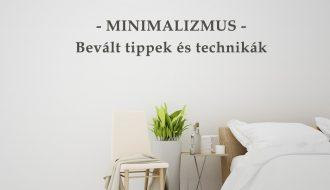 minimalizmus tippek es technikak